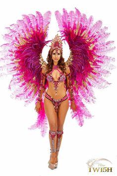 Trinidad Carnival Fantasy I Wish Carnival Dancers, Carnival Girl, Carnival Outfits, Carnival Costumes, Carnival Fashion, Carnival Outfit Carribean, Caribbean Carnival, Trinidad Carnival, Rio Carnival