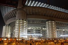 Stadiums at night: 25 beautiful cathedrals of sport photo