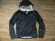 Patagonia x Apolis Waterproof Hooded Rain Jacket.  Available now in the eBay shop.