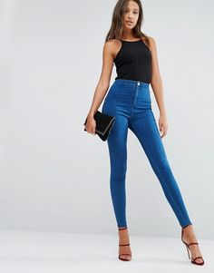 Missguided Tall | Missguided Tall Highwaisted Super Stretch Jean