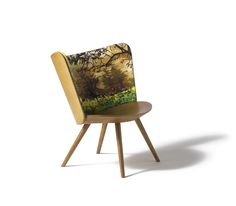 The Autumn Embroidery Chair, designed by Johan Lindstèn for Cappellini.