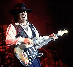 Stevie Ray Vaughan  The blues guitar legend performed his final show at an Eric Clapton concert just hours before his tragic death Aug. 12, 1990.