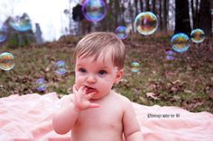 Shoot with my nephew the day after Christmas. #babyshoot #bubbles