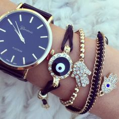 Hamsa Arm Candy Set (includes the watch!)