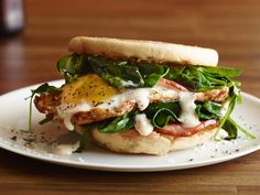 Recipe of the Day: Hangover Breakfast Sandwiches After a night spent toasting to the new year (and toasting and toasting and so on), a hearty breakfast is just what the doctor ordered. Leave it to these comforting breakfast sandwiches to cure even the toughest day-after hangover.