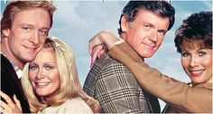 Gary & Val and Sid & Karen from the early days of KNOTS LANDING