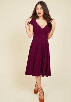 f251de6c80 Name the Date A-Line Dress in Scarlet. When your love offers to take