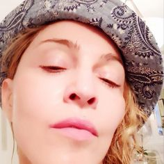 Madonna's got a new skin care range and she's not afraid to put it out there. The singer took to Instagram today to spruik MDNA, posting a rather startling p...