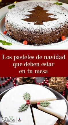 Decoración de pasteles navideña