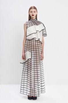 A beleza nos vestidos impressos em 3D de Noa Raviv