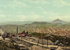 Postcard Cripple Creek, Colorado ca. 1900