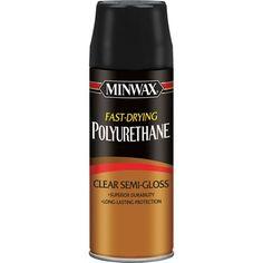 Minwax Clear Fast-Drying Polyurethane