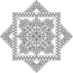 "Image detail for -designs in blackwork, preferring a ""modern"" style of blackwork ..."