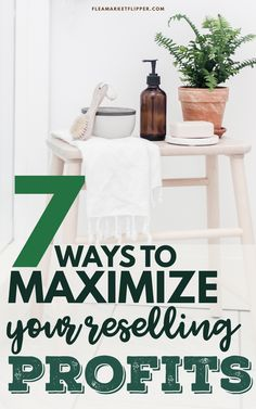 7 Ways To Maximize Your Reselling Profits | eBay Selling Tips - Are you wanting to increase your flipping business profits this year? Click to learn more tips on how to successfully increase your reselling income. | Flea Market Flipper | Reselling Business | Flipping Items For Profit | Ways To Make Money From Home | Flexible Job Ideas | Flipping Side Hustle #flipping #reseller #thrifting #entrepreneur #money #flexiblejobs #workfromhome #ebay