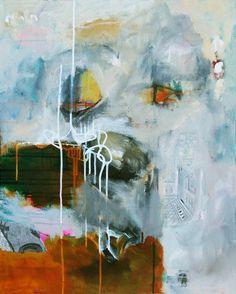 """Immerse Yourself"" 24"" x 36"" acrylic on canvas... Linda O'Neill ~ abby creek studios"