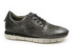 A.S.98 AIRSTEP Herren-Sneakers 475114 SMOKE/NERO - grau/schwarz