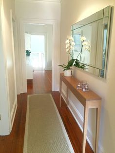 Entrance hall ideas entry hall ideas decor entrance hall decor best narrow hallway decorating ideas on Entrance Hall Decor, Entrance Table, Entryway Decor, House Entrance, Entryway Lighting, Modern Entryway, Entrance Ideas, Hallway Ideas Entrance Narrow, Entryway Console