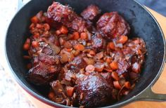 Beef Oxtail Recipe slow-smoked and cooked on the smoker with a rich braising liquid and great BBQ flavors. Dinner Side Dishes, Dinner Sides, Beef Oxtail, Marbled Meat, Oxtail Recipes, Bbq Seasoning, Smoked Beef, Pulled Pork Recipes, Soul Food