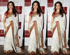 In several occasions, Award function, in wedding women's love to wear the traditional silk saree . Silk saree always gives the beauty and e. Indian Wedding Planner, Traditional Silk Saree, Bridal Silk Saree, Indian Silk Sarees, Saree Blouse Patterns, Indian Celebrities, Wedding Wear, Blouse Designs