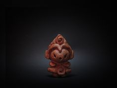木彫り土偶 10号