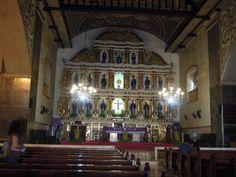A shot of the altar of Basílica Minore del Santo Niño de Cebu