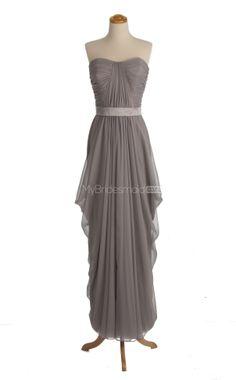 Gorgeous Silver Bridesmaid Dresses,Bridesmaid Dress