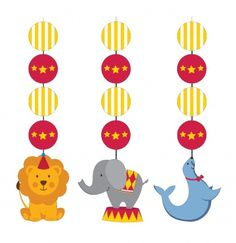 Circus Time Hanging Cutout Decorations Count) from Wholesale Party Supplies is the perfect way to put the finishing touches on your Circus birthday party! Carnival Party Supplies, Circus Carnival Party, Carnival Birthday Parties, Circus Birthday, Kids Party Supplies, Circus Theme, Birthday Party Themes, Boy Birthday, Birthday Ideas