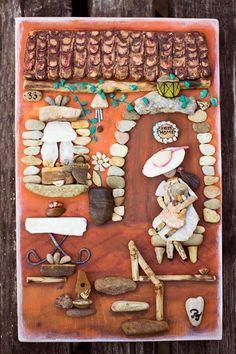 Egy magyar lány zseniális képeket készít kövekből | Zacc - minden, ami már leülepedett bennem... #akőlelke #kavicsképek #papptimi #pt #pebbleart #pebbleartist #stoneart