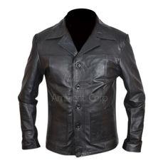 Killing Me Softly Leather Jacket.  Same as worn by Brad Pitt