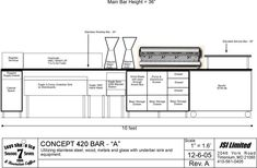 View topic - More On New Bar Design. Coffee Shop Counter, Cafe Counter, Coffee Shop Bar, Coffee Carts, Coffee Shop Design, Cafe Design, Coffee Shop Branding, Coffee Shop Business, Coffee Gallery