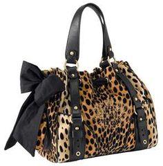 Juicy Couture Cheetah Print Daydreamer Handbag Tote~ I want it!
