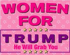 Why would any woman vote for Trump or any republican for that matter? Republicans have Consistently for years passed laws limiting the rights of women and now want to take away the right to vote?