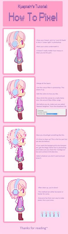 How To Pixel by CaptainStrawberry.deviantart.com on @DeviantArt