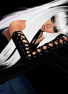 IMVU, the interactive, avatar-based social platform that empowers an emotional chat and self-expression experience with millions of users around the world. 3d Fashion, Social Platform, Virtual World, Black Art, Imvu, Chanel Boy Bag, Avatar, Celebrity Portraits, Shoulder Bag