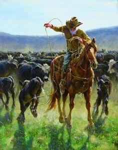 Spotlight on equine painter Jim Rey