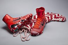Nothing says holiday season like Christmas kicks!! #shoes #basketball