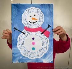 Winter Art Projects, Winter Crafts For Kids, Kids Crafts, Art For Kids, Diy And Crafts, Christmas Angel Crafts, Preschool Christmas, Holiday Crafts, Christmas Calendar