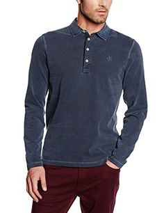 Marc O'Polo Herren Poloshirt W27 2236 55136, Gr. Large, Blau (night 898)