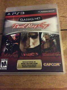 Devil May Cry HD Collection Playstation 3 MUST OWN  #devilmaycry, #PS3, #game, #playstation, #ebay