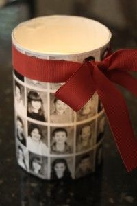 Cute Candle Project, could use a variety of images and papers.  Thinking a great' GF's DC project.