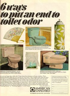 Home decor. Bathroom accessories and fixtures Image American, American Standard, 1960s Home Decor, Open Window, Flooring, Cleveland, Color, Design, Colour