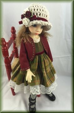 Plaid AND Stripes Fits Kaye Wiggs Nyssa Dollstown 7 YR OLD OR Similar MSD | eBay