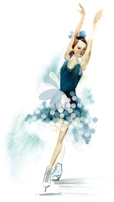 Figure skating was a huge part of my life when I was younger. I gave it up when I was but I still try to get out on the ice as often as possible. Figure Skating Quotes, Figure Skating Dresses, Ice Skate Drawing, Skating Pictures, Figure Ice Skates, Skate Art, Ice Skaters, Ice Princess, Illustration