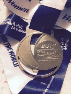 2017 SHAPE Half Marathon bling, Central Park, NYC.