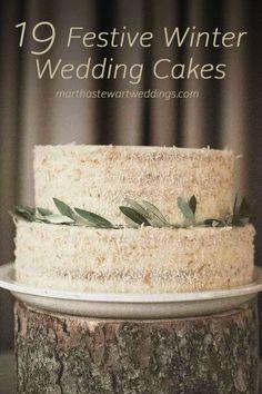 19 Festive Wedding Cakes | Martha Stewart Weddings