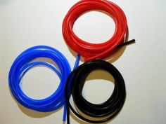 Silicone-Vacuum-Hose-Tube-1mm-Thin-wall-Red-Black-or-Blue-Scooter-Moped-GY6-Hose