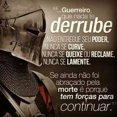 Guerreiro Christian Warrior, Reflection Quotes, Motivational Phrases, New Years Eve Party, Taekwondo, Itachi, I Card, Improve Yourself, Reading