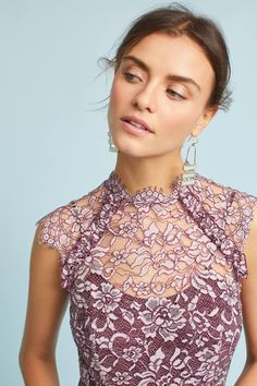13ba4d63307b60 Shop the Shoshanna Lace Maxi Dress and more Anthropologie at Anthropologie  today. Read customer reviews
