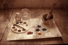 Pigments and Tools: making your own paint. i'm gonna try this soon and maybe put a tutorial together. let's see how it works!