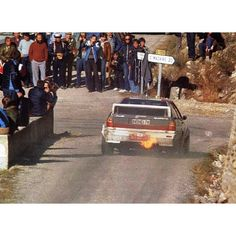 Audi's fire breathing dragon! Group B, as in Badass!!!